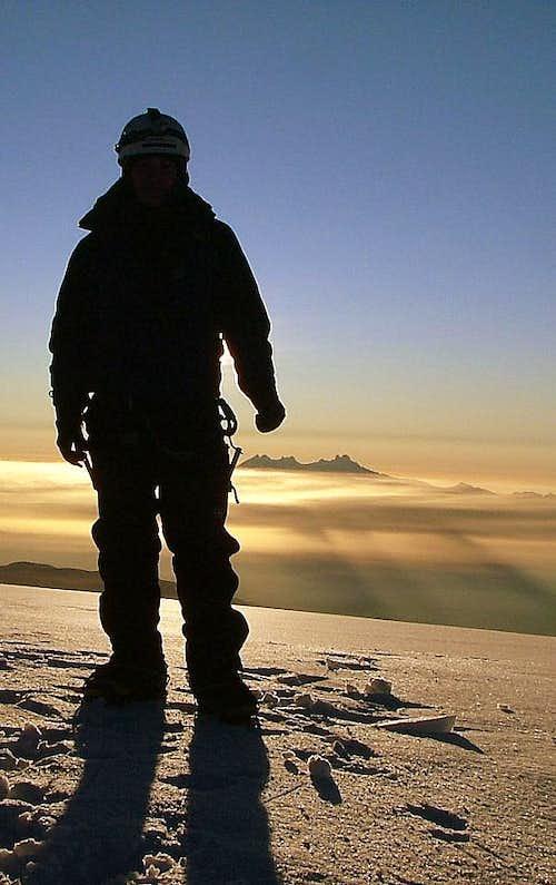 Chimborazo (6,310 m/20,697 ft). Ecuador