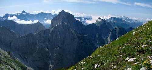Just stunning view of Julian Alps