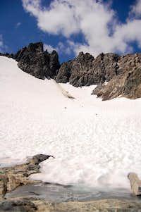 SE Glacier of Ritter