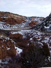 No Thoroughfare Canyon