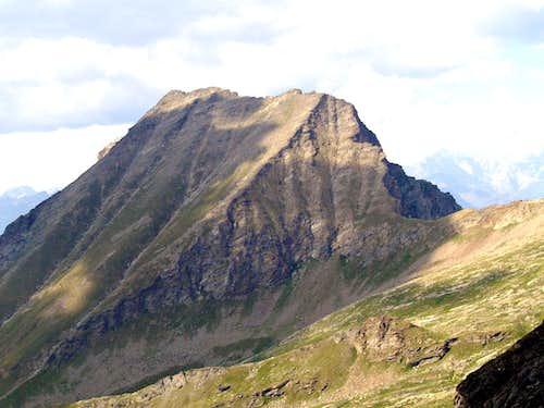 Mount Rafray and  Eyelè Pass