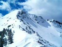 The East Ridge and North Face...
