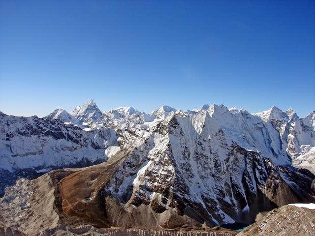 Peak 41, Chamlang and Mera Peak