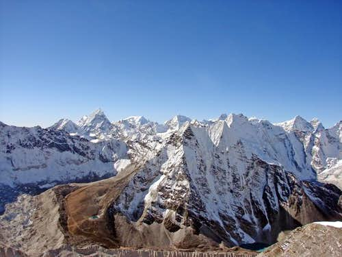 Peak 41, Chamlang and Mera Peak