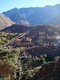 Village after Imlil