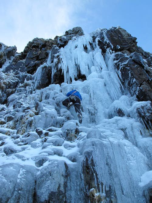 Welsh Ice Climbing
