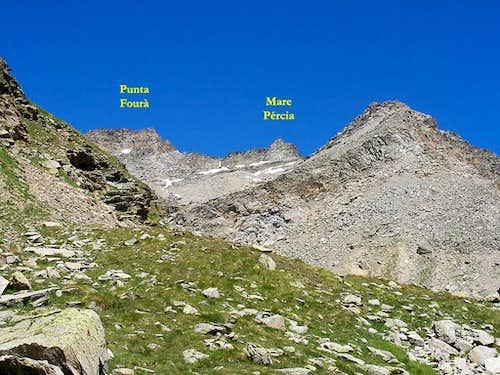 Punta Fourà - Mare Pércia