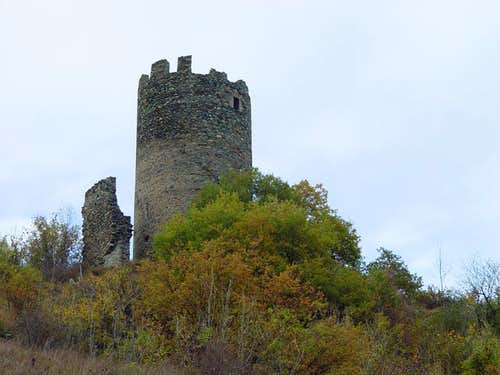 Ancient  of lookout Tower