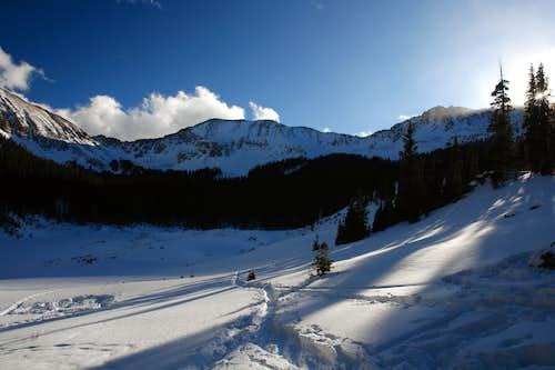 Winter, Williams Lake Basin
