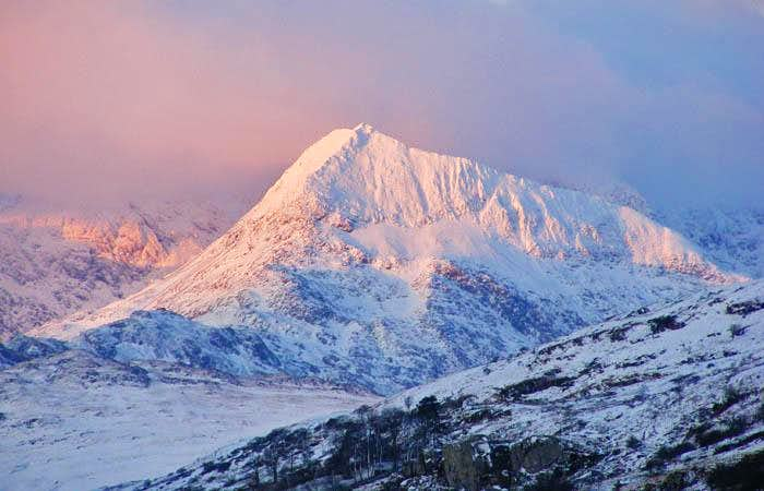 Crib Goch at dawn
