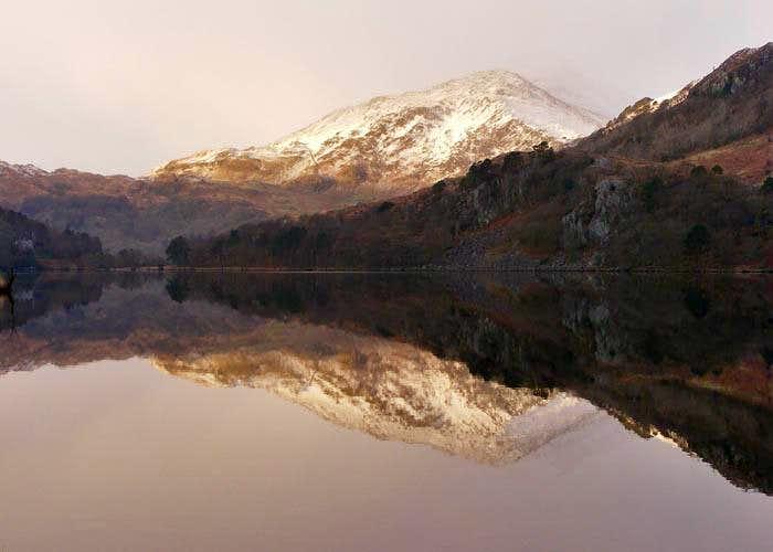 Reflection in Llyn Gwynant