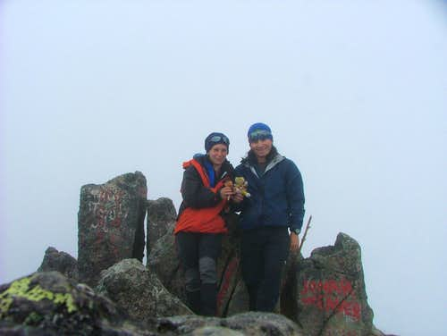 Imbabura summit.