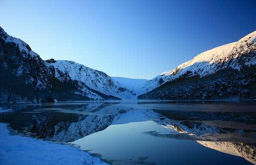 Glendalough in winter
