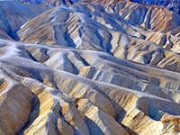 Landscape detail, Zabriski Point
