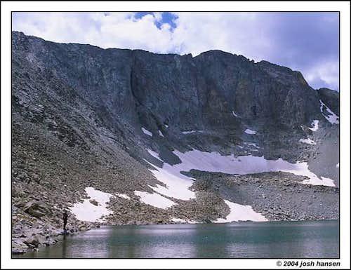 Fishing at Snow Lake -- Early...