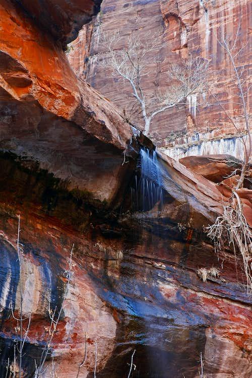 Upper Emerald Pool Falls