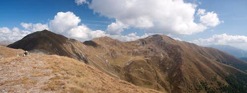 Hochhorn / Corno Alto, Gaishörndl / Cornetto Fana and Toblacher Pfannhorn / Corno Fana
