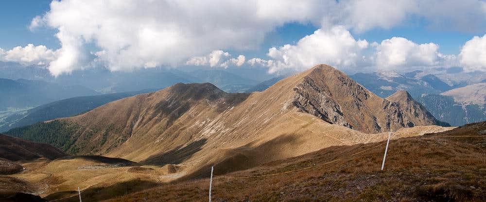 Golfen / Monte Calvo and Hochhorn / Corno Alto