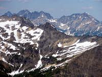 The Entiat Range from Clark