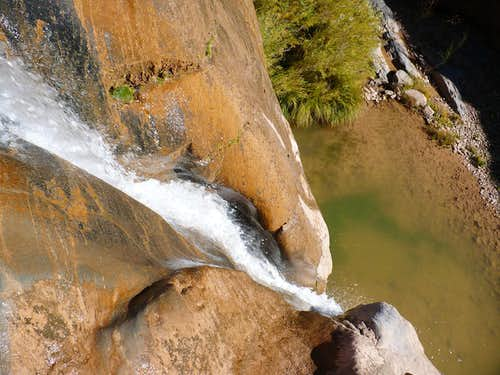 Big Dominguez Canyon Fall