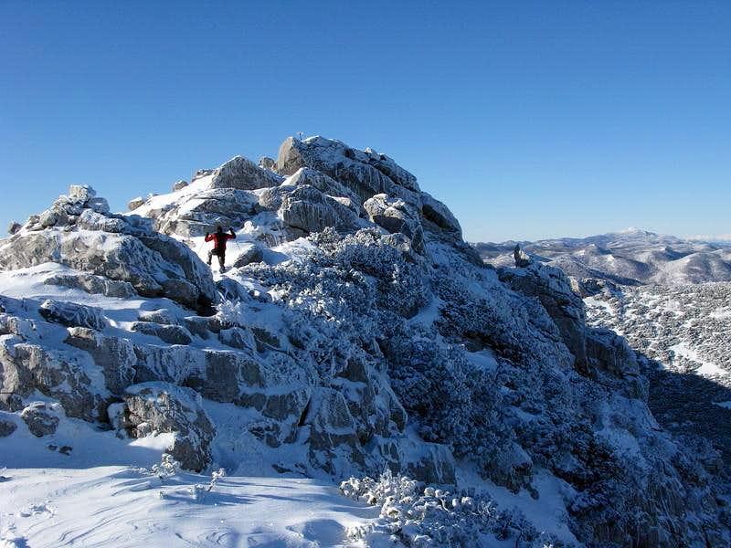 Risnjak summit ridge