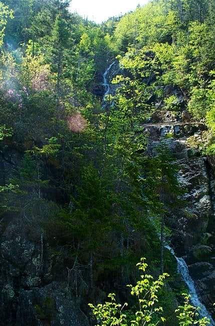 Waterfalls heading up...