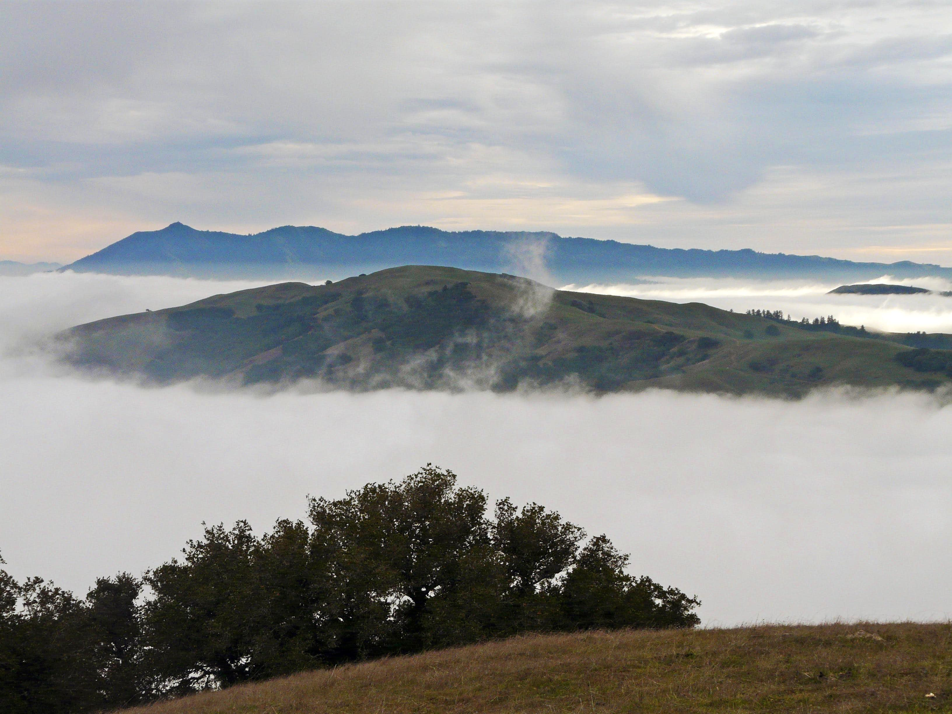 Marin County Mountains,  Ridges and Hills