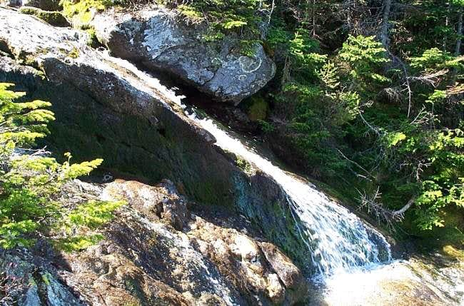 Waterfalls from Ammonoosuc...