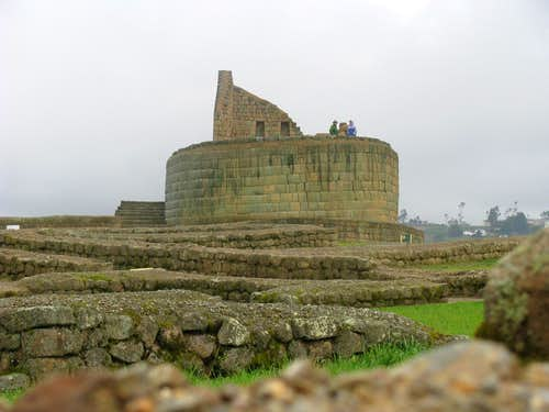 Ingapirca, Temple of the Sun
