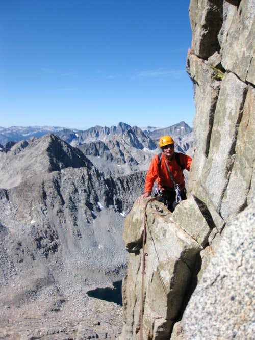 On the West Arete
