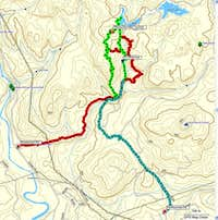 Monument Mountain Route