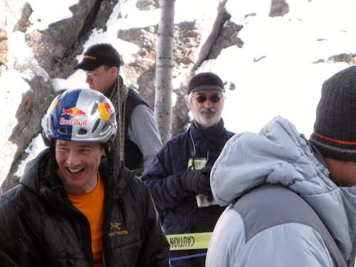 Will Gadd after 24 hours of ice climbing