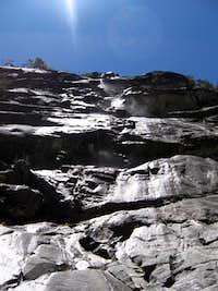 Water coming from Valluna