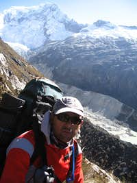 Going up to base camp
