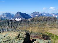 Logan Pass Mountains