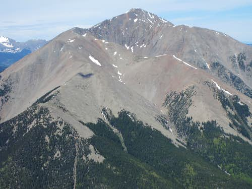 From East Spanish Peak