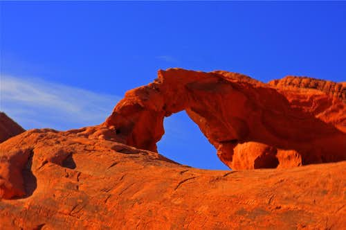 Backside of Arch Rock