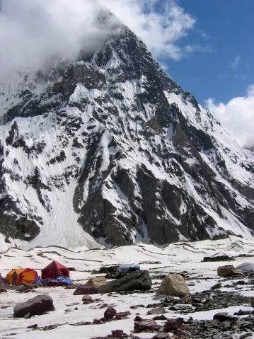 Myrtre peak in June 2004.