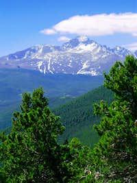 Trail Ridge Road view June...