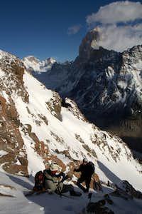 Ascending Cerro Solo