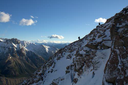 Cerro Solo - Lower part