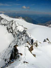 Descent ridge