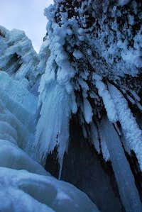 Roaring Brook Fall icycles