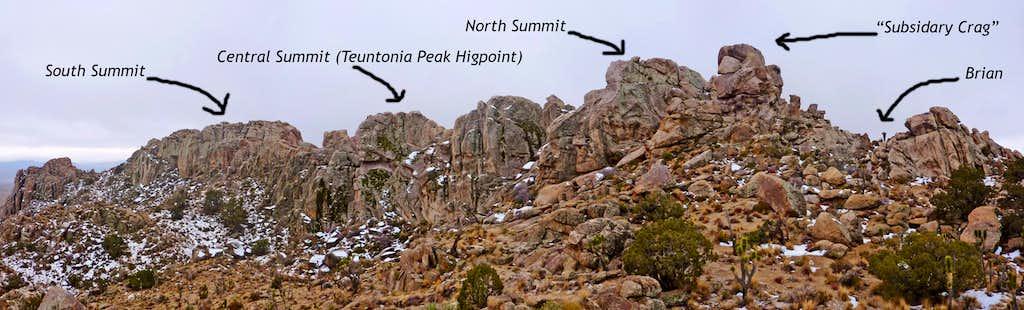 Teutonia Peak Markup