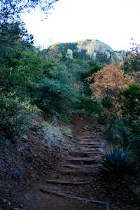 Pinnacles Trail up Emory Peak
