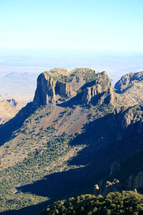 Casa Grande from Summit of Emory