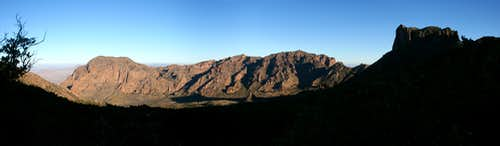 Morning over Chisos Basin