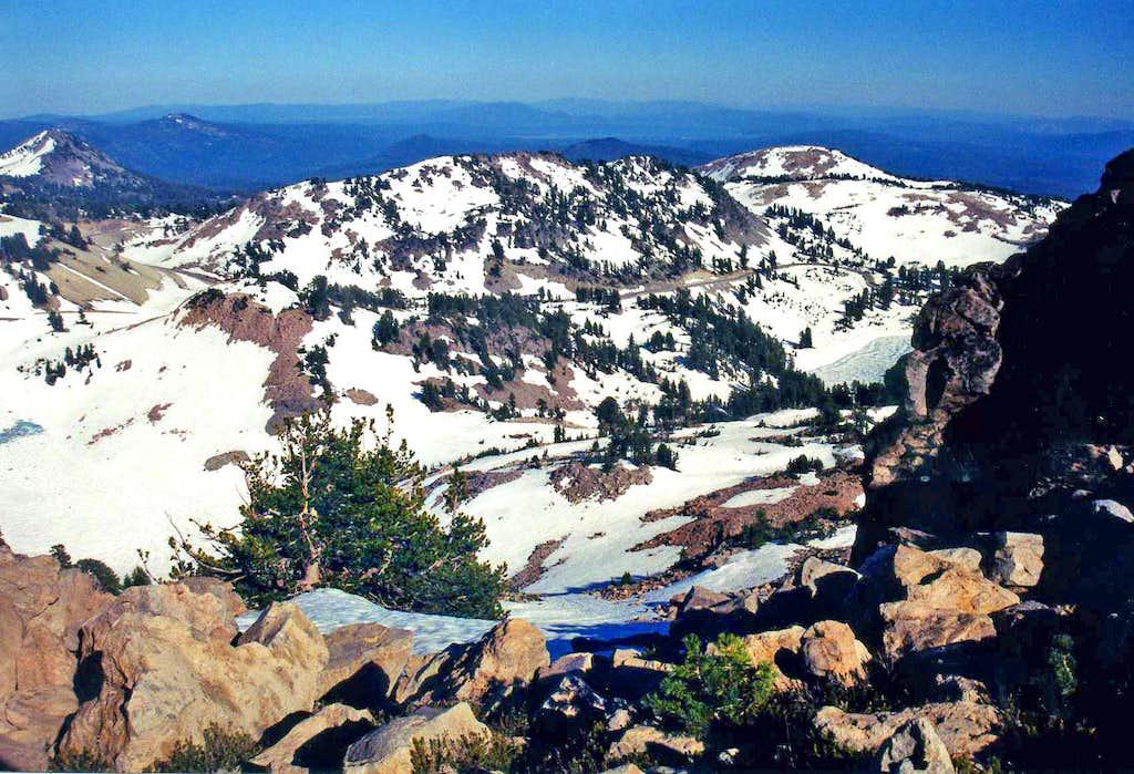 Eagle Peak east view