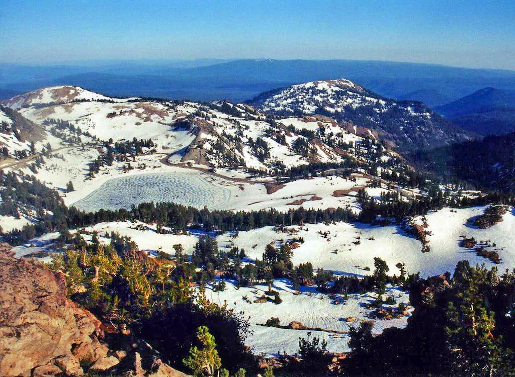 Eagle Peak south view