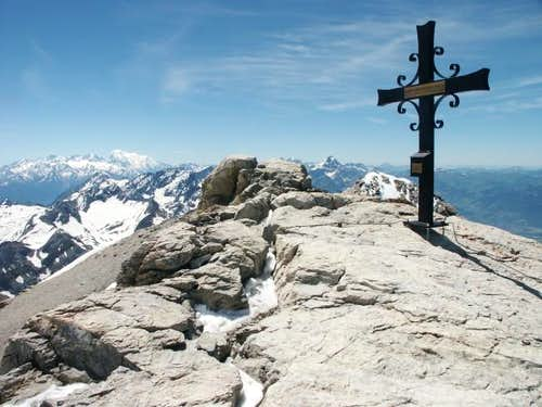 Summit cross of the...